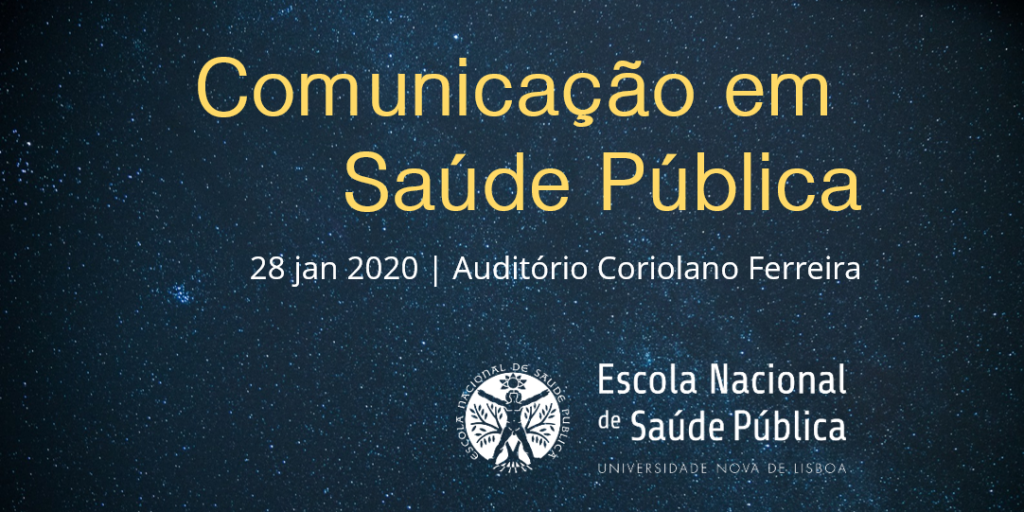 Sessão sobre Comunicação em Saúde Pública