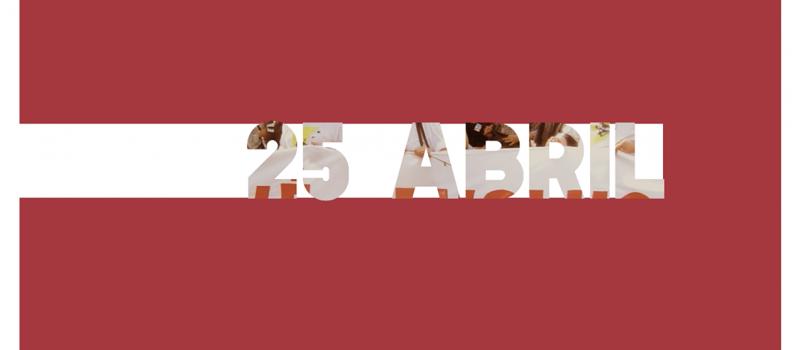 25 de abril, todos os dias