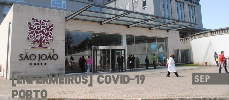 Covid-19: Porto – CH São João exclui enfermeiros do gozo da tolerância