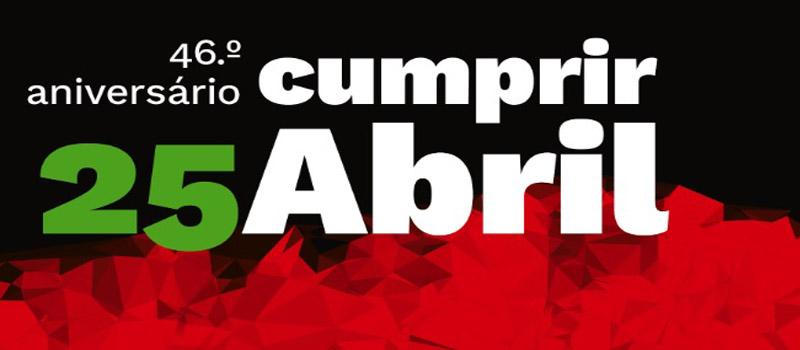 Lisboa – participa no 46º aniversário do 25 de Abril