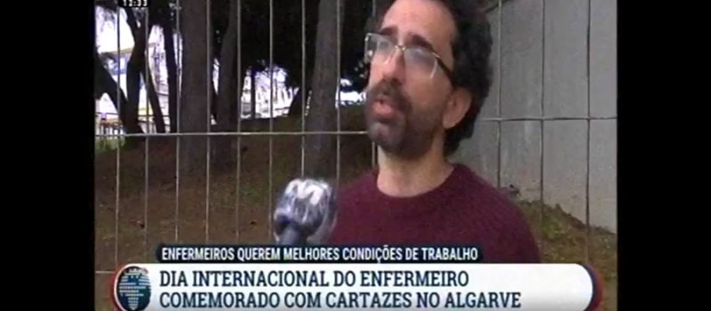 Algarve: ação reivindicativa no Dia Internacional do enfermeiro