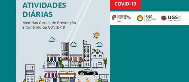 Covid-19: manual da DGS – Medidas Gerais de Prevenção e Controlo