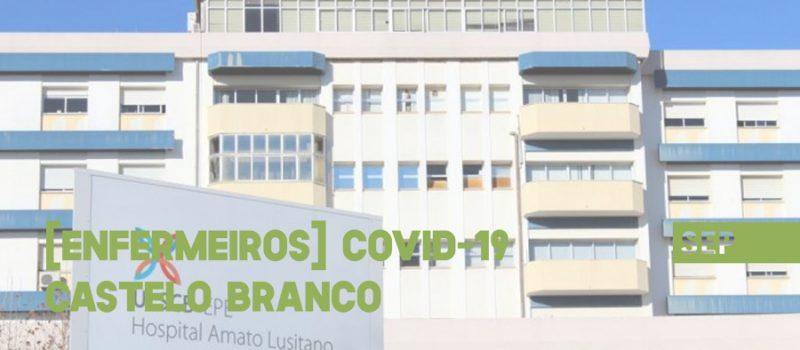 Castelo Branco: pandemia – reorganização da Unidade Local de Saúde