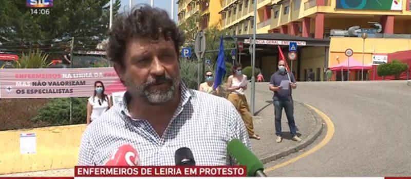 Leiria: enfermeiros do centro Hospitalar exigem reunir com a administração