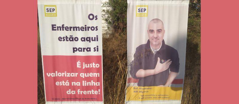 """Algarve: exposição – """"Enfermeiros na Linha da Frente, Valorização na Linha de Trás"""""""