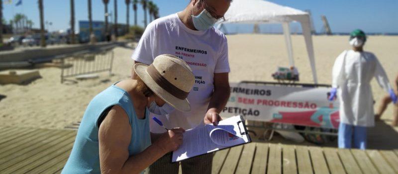 População do Algarve apoia os enfermeiros na progressão da carreira
