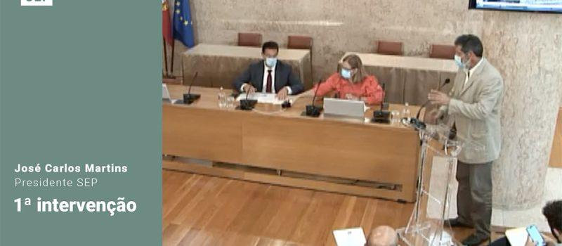 Audiência no Parlamento pela alteração da atual carreira