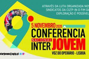Conferência da Interjovem a 5 de novembro