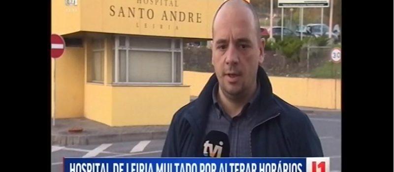 Hospital de Leiria multado por alterar horários