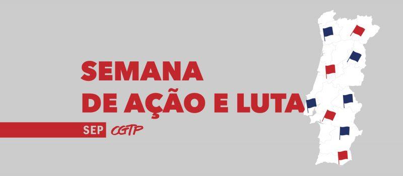 CGTP: semana de luta pelos enfermeiros portugueses