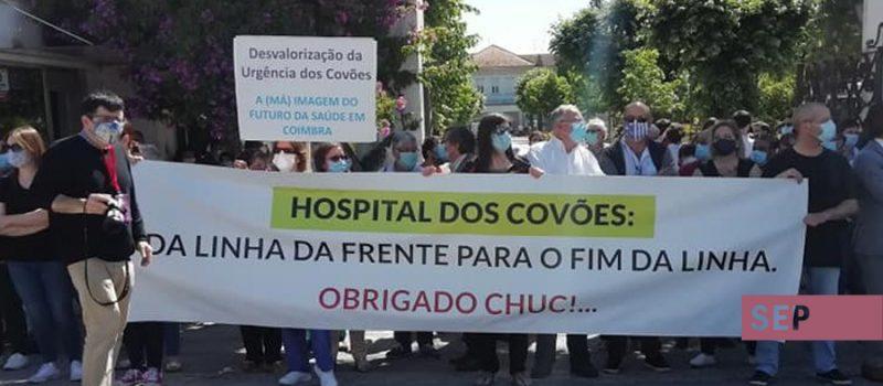 Urgência do Hospital Geral dos Covões em rutura e sem condições de trabalho