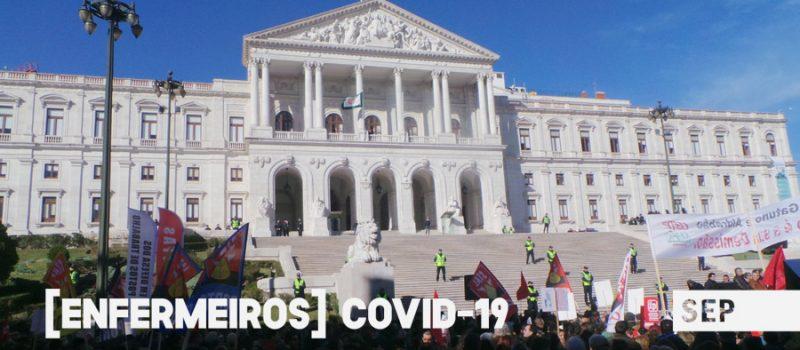 Assembleia da República – Comissão Covid: audição do SEP