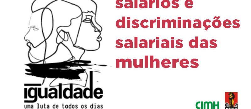 Estudo 4 CGTP na pandemia: salários e discriminações salariais das mulheres