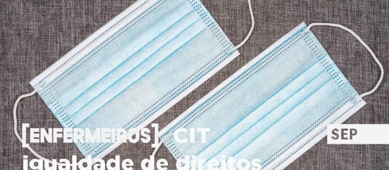 Férias: igualdade entre enfermeiros com CIT e CTFP