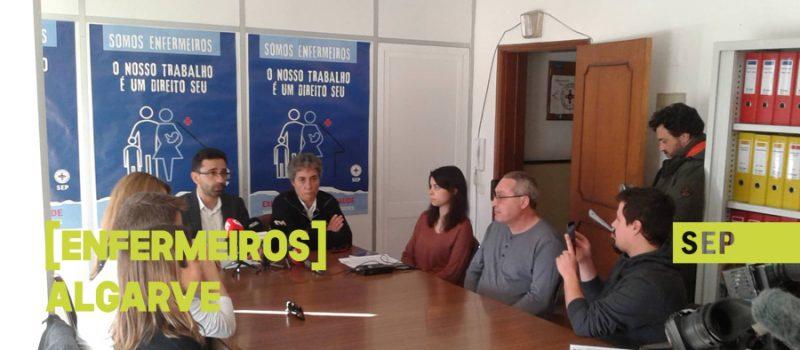 Progressão: enfermeiros do Algarve fartos de serem discriminados