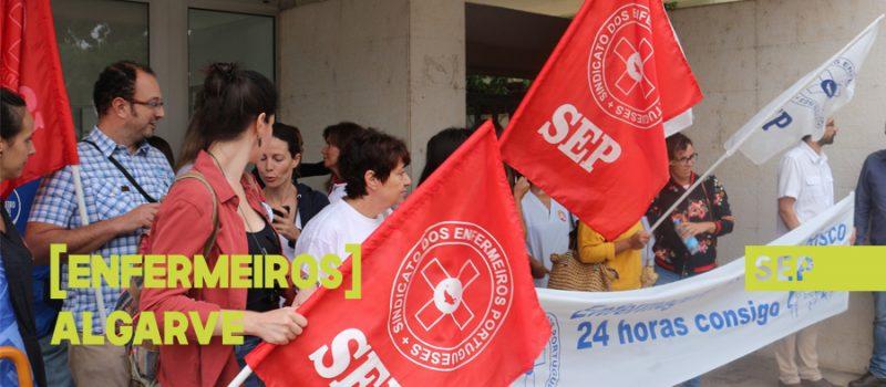 Concentração na ARS Algarve a 19 de abril a exigir a justa progressão