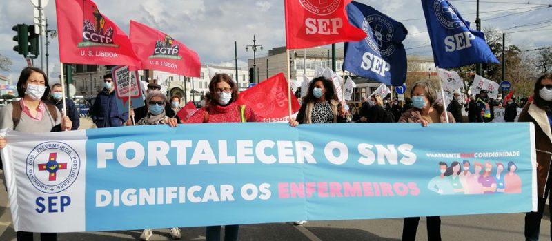 Enfermeiros algarvios protestam a 19 de abril