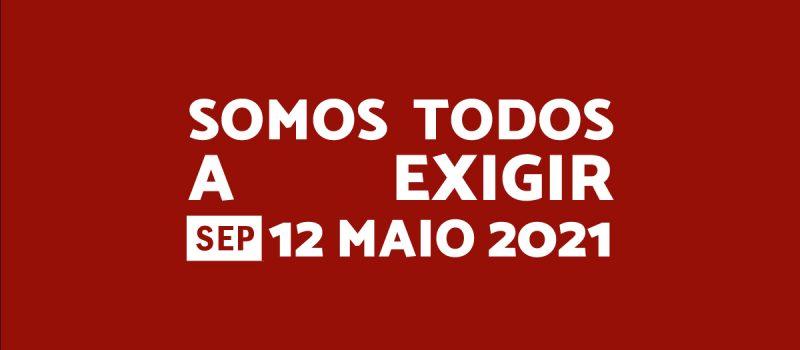 Manifesto aprovado no dia 12 maio