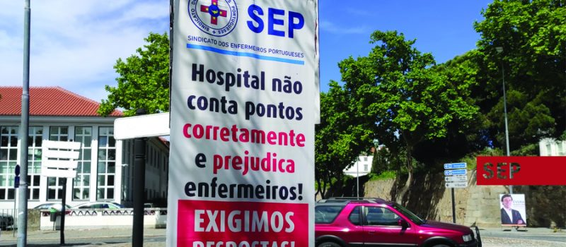 Denunciamos e exigimos resposta do Hospital de Évora