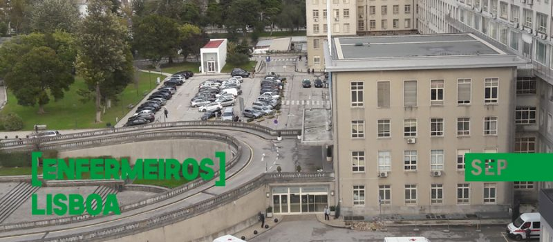 Enfermeiros do CHU Lisboa Norte exigem a resolução de compromissos assumidos