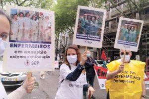 Concentração em frente ao Ministério da Saúde a 1 julho