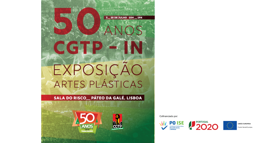 CGTP: exposição de Artes Plásticas – comemoração 50 anos