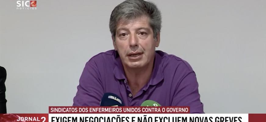 SEP | José Carlos Martins em declarações à imprensa