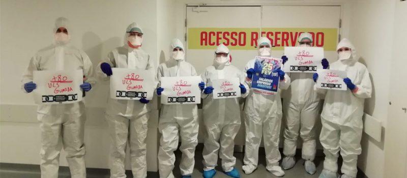 ULS Guarda: ação de protesto 13 julho contra a precariedade