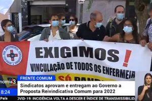Frente Comum de Sindicatos: Proposta Reivindicativa Comum 2022